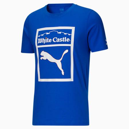 Camiseta PUMA x WHITE CASTLEpara hombre, Puma Team Royal, pequeño