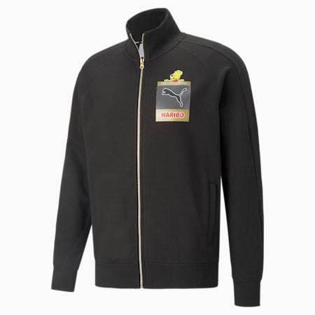 PUMA x HARIBO Regular Fit Track Jacket, Puma Black, small-IND
