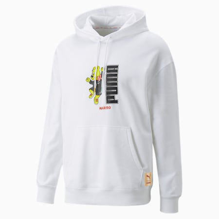 PUMA x HARIBO hoodie, Puma White, small