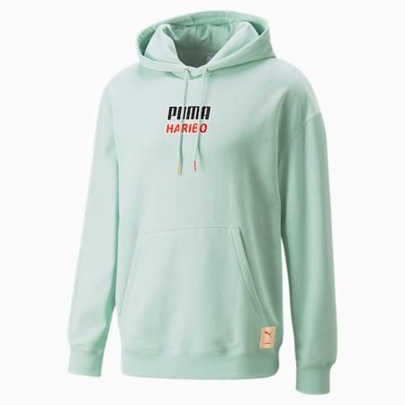 PUMA x HARIBO hoodie, Gossamer Green, small