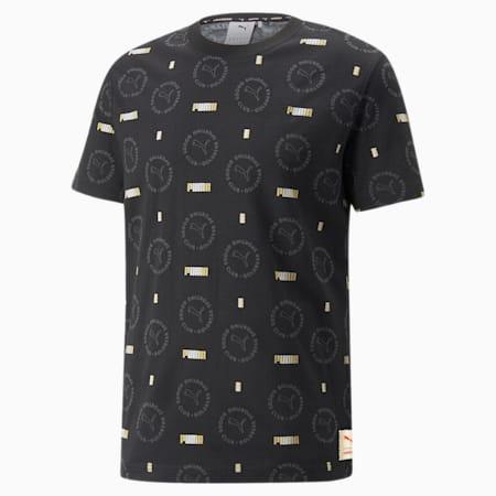 Camiseta conestampaPUMA x HARIBO, Puma Black-- AOP, pequeño