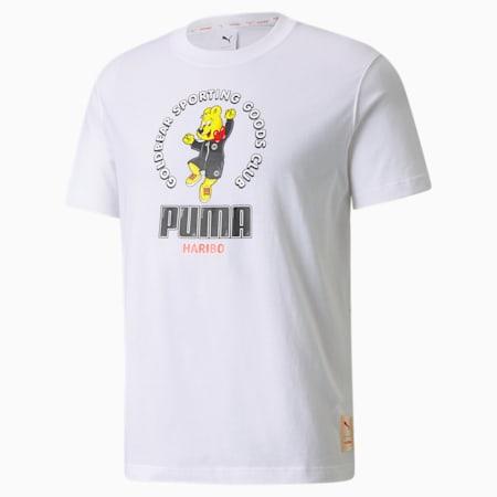 푸마 x 하리보 그래픽 티/PUMA x HARIBO Graphic Tee, Puma White, small-KOR