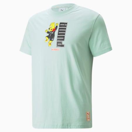 PUMA x HARIBO Graphic T-shirt, Gossamer Green, small