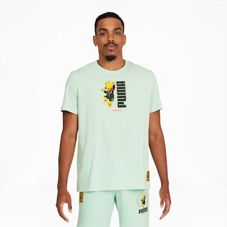 T-shirt à graphique PUMA x HARIBO, Vert translucide, petit
