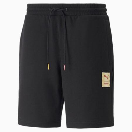 PUMA x HARIBO Regular Fit Unisex Shorts, Puma Black, small-IND