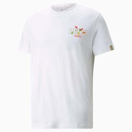 T-shirt con grafica PUMA x HARIBO, Puma White, small