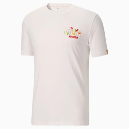Camiseta estampadaPUMA x HARIBO, Puma White, pequeño