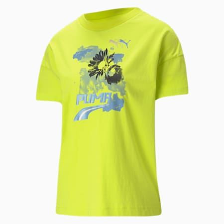 Evide Women's Graphic T-Shirt, Nrgy Yellow, small-IND
