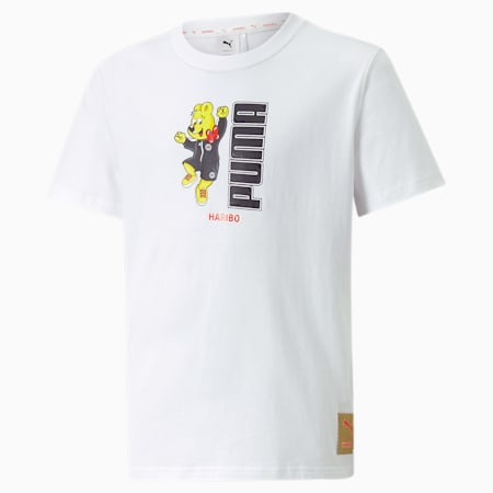 T-shirt graphique PUMA x HARIBO enfant et adolescent, Puma White, small