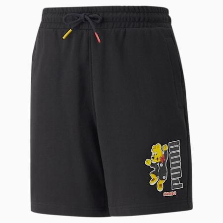 PUMA x HARIBO Youth Shorts, Puma Black, small-GBR