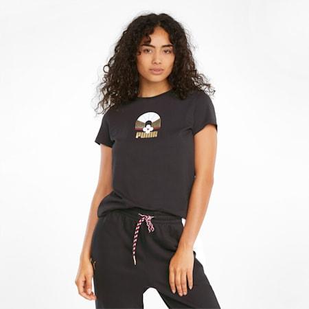 AS Graphic Women's Tee, Puma Black, small-GBR
