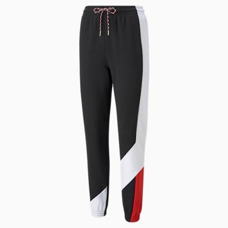 Art of Sport Women's Track Pants, Puma Black, small-IND