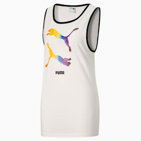 Camiseta sin mangas Pride, Puma White, pequeño