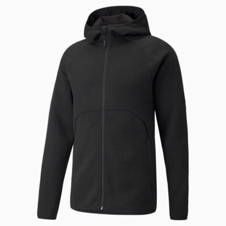Dime Men's Basketball Jacket, Puma Black-Puma Black, small-GBR