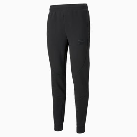 Dime Men's Basketball Pants, Puma Black-Puma Black, small-GBR