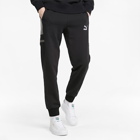 GLITCH Men's Sweatpants, Puma Black, small