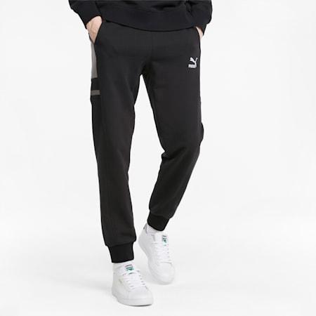 Pantalon de survêtement GLITCH homme, Puma Black, small