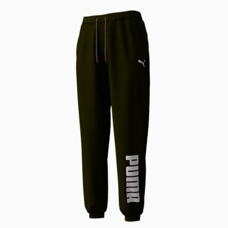 Damen Gestrickte Sweatpants, Puma Black, small