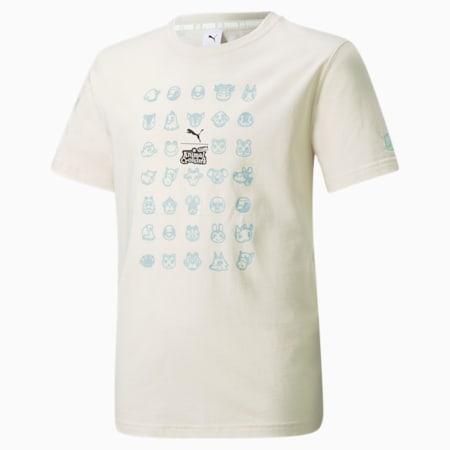 T-shirt PUMA x Animal Crossing™: New Horizons da ragazzo, no color, small