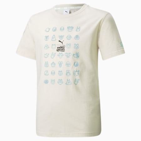 PUMA x Animal Crossing™: New Horizons Boy's Loose T-Shirt, no color, small-IND