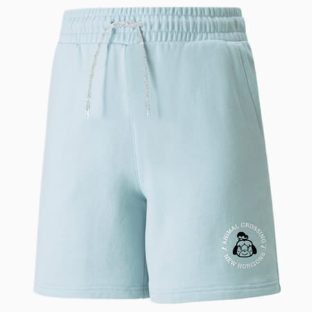 PUMA x Animal Crossing™: New Horizons Jugend Shorts, Light Sky, small