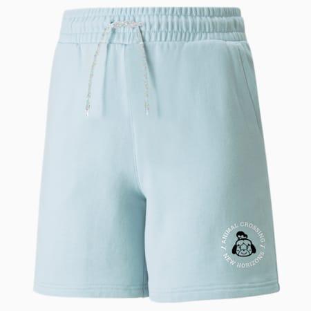 PUMA x ANIMAL CROSSING Youth Shorts, Light Sky, small-SEA