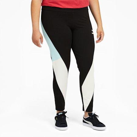 Leggings con cintura alta CLSX PL, Cotton Black-Gloaming, pequeño
