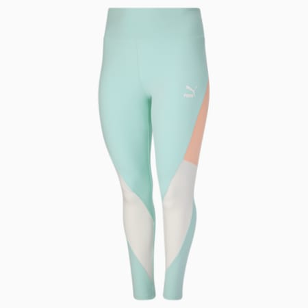 Leggings con cintura alta CLSX PL, Eggshell Blue-Gloaming, pequeño