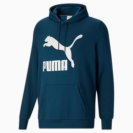 Sudadera con capucha Classics con logo FL BT para hombre, Intense Blue, pequeño