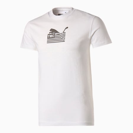 PUMA x TMC HUSTLE WAY ロゴ Tシャツ, Puma White, small-JPN