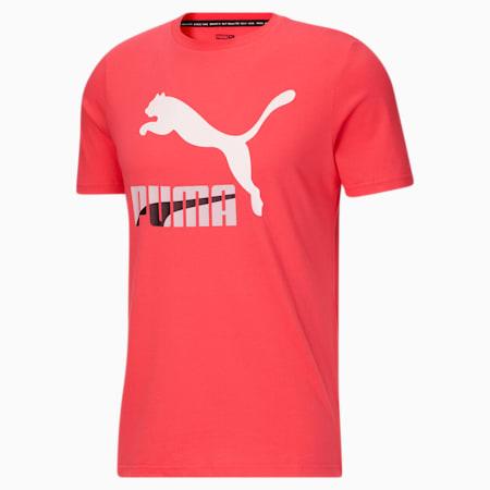 Camiseta Dazed Classics con logo para hombre, Paradise Pink, pequeño