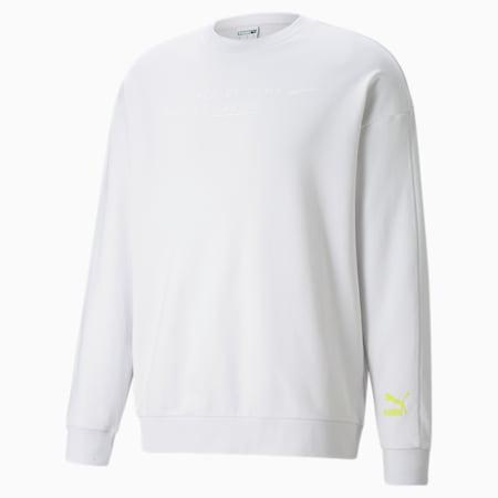 Statement Crew Neck Men's Sweatshirt, Nimbus Cloud, small-GBR