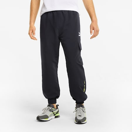 Statement Men's Cargo Pants, Puma Black, small-GBR