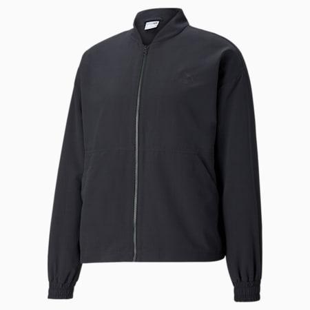 Statement Woven Men's Jacket, Puma Black, small-GBR