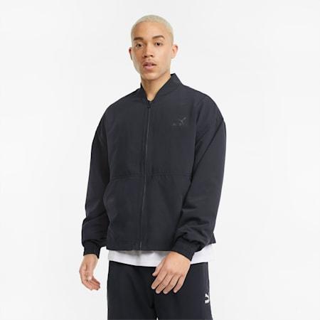 Statement Woven Men's Jacket, Puma Black, small