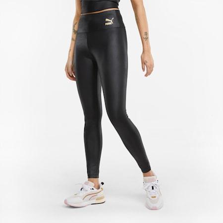 Legging taille haute brillant femme, Puma Black, small