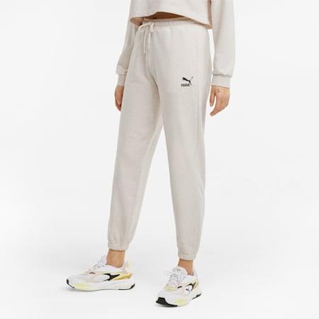 Damen Sweatpants, Oatmeal, small