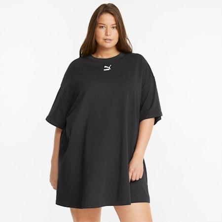 Classics PLUS Women's Tee Dress, Puma Black, small-GBR