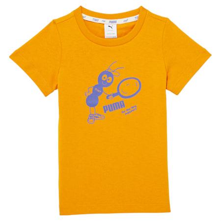 Dziecięca koszulka PUMA x TINYCOTTONS, Sunflower, small
