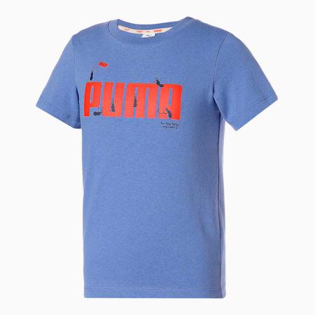 キッズ PUMA x TINYCOTTONS Tシャツ 92-152cm, Baja Blue, small-JPN