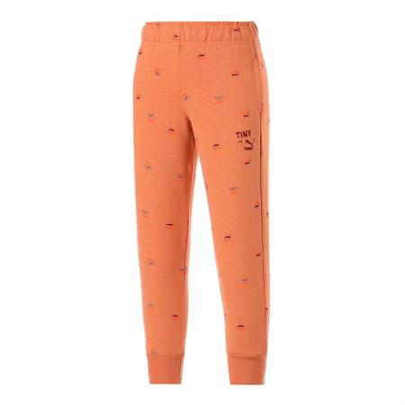 Dziecięce spodnie dresowe znadrukiem PUMA x TINYCOTTONS, Pheasant, small