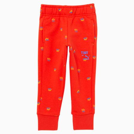 Pantalones deportivos estampados PUMA x TINYCOTTONS para niños, Grenadine, pequeño