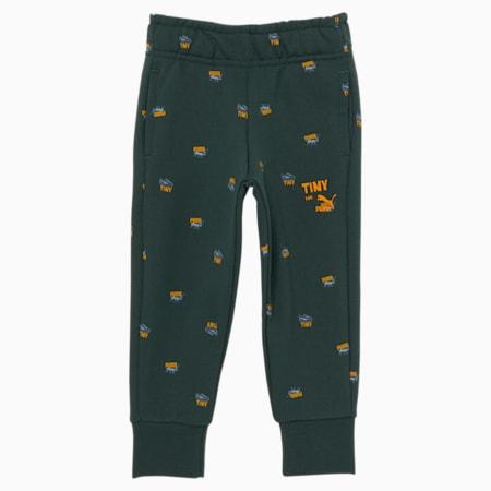 Pantalones deportivos estampados PUMA x TINYCOTTONS para niños, Green Gables, pequeño