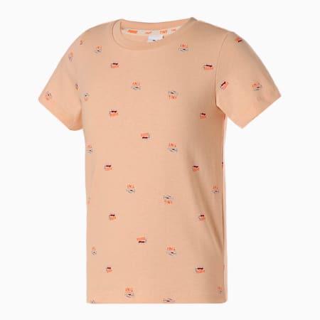 キッズ PUMA x TINYCOTTONS AOP Tシャツ 92-152cm, Winter Wheat, small-JPN