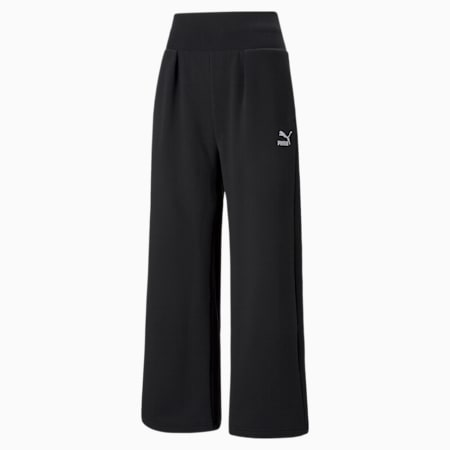 Pantalones deportivos Classics Fashion para mujer, Puma Black, pequeño