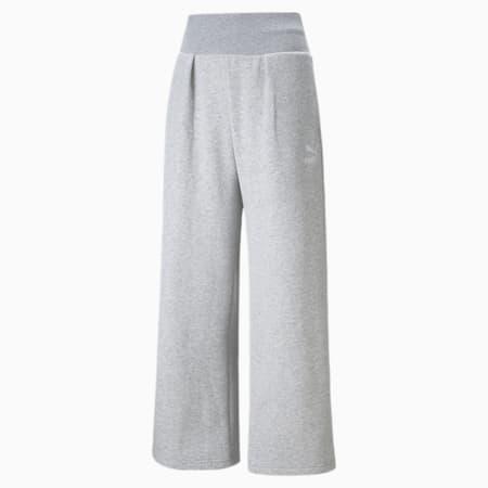 Pantalones deportivos Classics Fashion para mujer, Light Gray Heather, pequeño