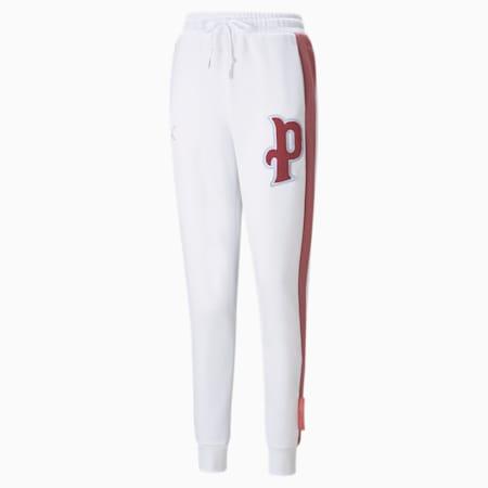 Pantalones deportivos PUMA Team para mujer, Puma White, pequeño