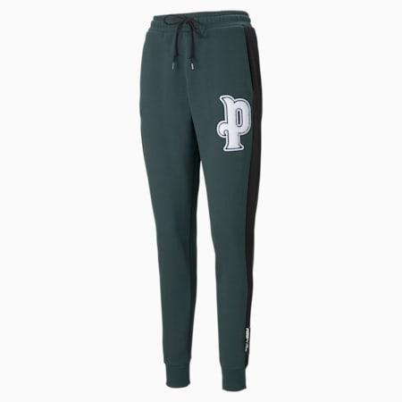 Pantalones deportivos PUMA Team para mujer, Green Gables, pequeño