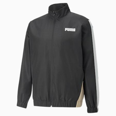 Block Men's Jacket, Puma Black, small-GBR