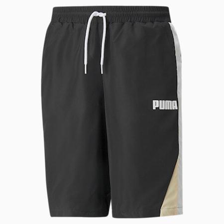 Block Men's Shorts, Puma Black, small-GBR